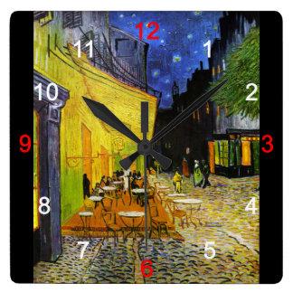 "Van Gogh , ""Cafe Terrace at Night"" 時計"