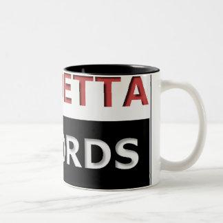 Vandettaはコーヒー・マグを記録します ツートーンマグカップ