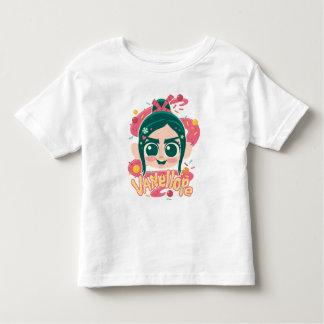 VanellopeフォンSchweetz Face トドラーTシャツ