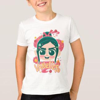 VanellopeフォンSchweetz Face Tシャツ