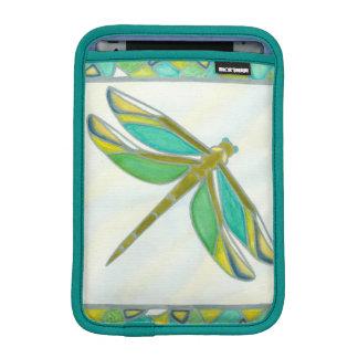 Vannaの逃亡による明るいパステル調のトンボ iPad Miniスリーブ