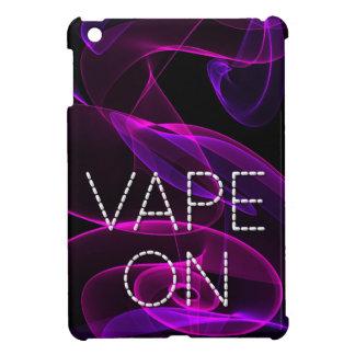 Vapeのファンシーなピンクの紫色の煙 iPad Mini カバー