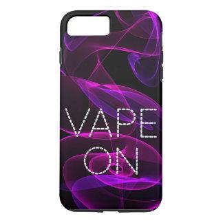 Vapeのファンシーなピンクの紫色の煙 iPhone 8 Plus/7 Plusケース