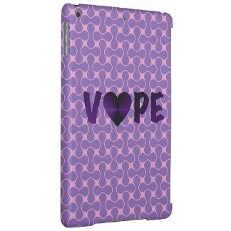 Vapeの紫色のレトロのハート