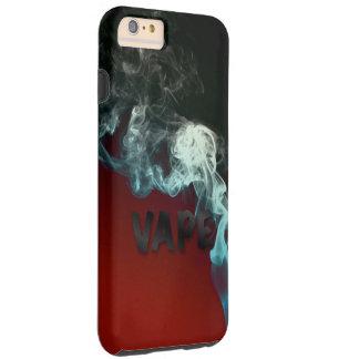 Vapeの黒く赤い雲 シェル iPhone 6 ケース