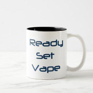 vapeを目覚め、かいで下さい! ツートーンマグカップ