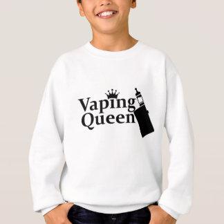 Vapingの女王 スウェットシャツ