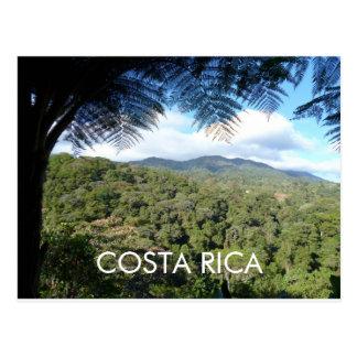 Vara Blanca、Herediaのコスタリカの郵便はがき ポストカード
