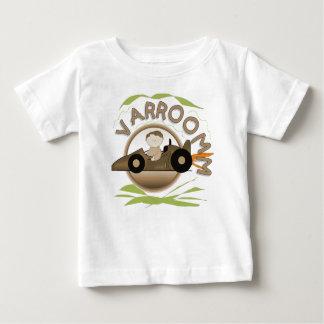 VarroommのレースカーのTシャツおよびギフト ベビーTシャツ