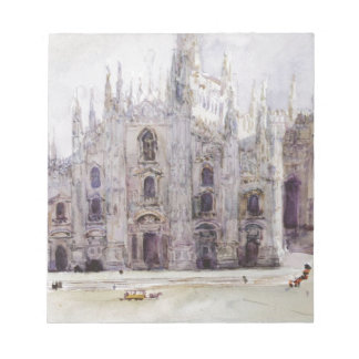 Vasily Surikov著ミラノのカテドラル ノートパッド