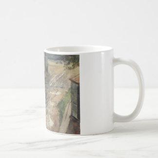 Vasily Surikov著モスクワのヤード コーヒーマグカップ