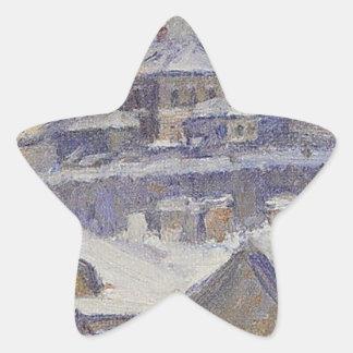 Vasily Surikov著モスクワの眺め 星シール