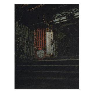 Vasily Vereshchag著日光の寺院への入口 ポストカード