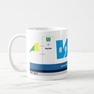 vasp航空会社 コーヒーマグカップ