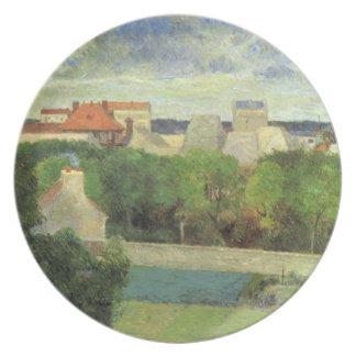 Vaugirard - 1879年の市場庭 プレート