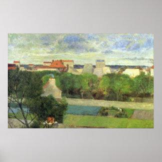 Vaugirard - 1879年の市場庭 ポスター
