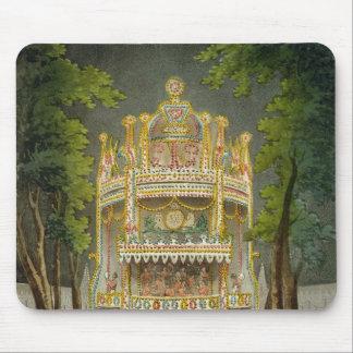 Vauxhallの庭1808年 マウスパッド