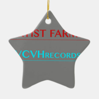 VCVHの記録 セラミックオーナメント