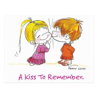 VDA-001は最初に接吻します ポストカード
