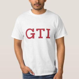 VDUB GTIのバッジ(赤銀)のTシャツ Tシャツ
