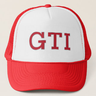 VDUB GTIの赤いバッジの帽子 キャップ