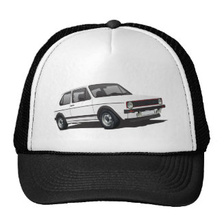 VDUB WagenのゴルフGTI MK1白いトラック運転手の帽子 キャップ