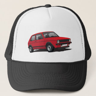 VDUB WagenのゴルフGTI MK1赤の帽子 キャップ