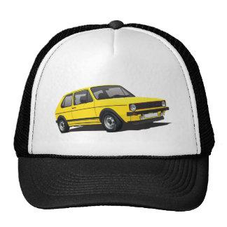 VDUB WagenのゴルフGTI MK1黄色いトラック運転手の帽子 キャップ