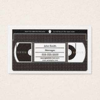Vectorizedビデオテープ 名刺