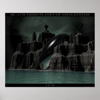 VEGAシステムのHC-3178第3惑星 ポスター