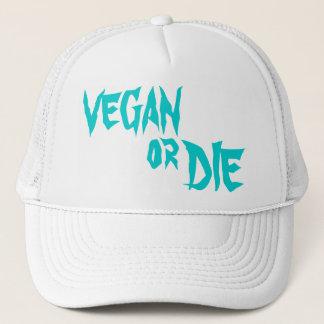 VEGAN or DIE キャップ
