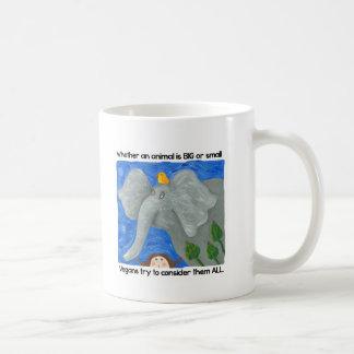 veganismを促進して下さい! コーヒーマグカップ