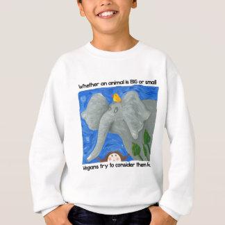 veganismを促進して下さい! スウェットシャツ