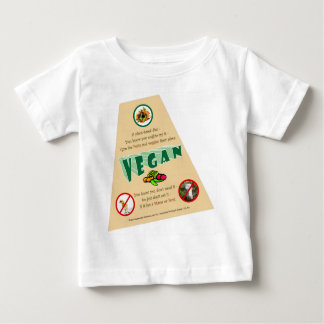 VeganT角度TRANS ベビーTシャツ