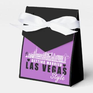 Vegas Wedding Gift Ideas - Favor Boxes フェイバーボックス