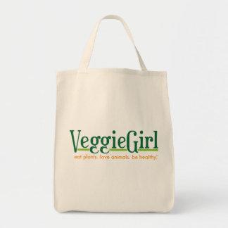 Veggiegirlの食料雑貨の戦闘状況表示板 トートバッグ