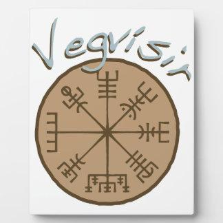 Vegvsirの横木Sigil フォトプラーク