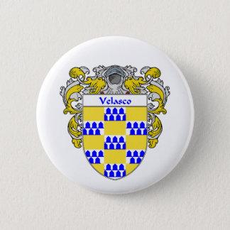 Velascoの紋章付き外衣(包まれる) 5.7cm 丸型バッジ