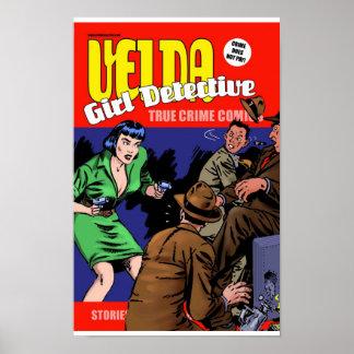Velda: 女の子の探偵 ポスター