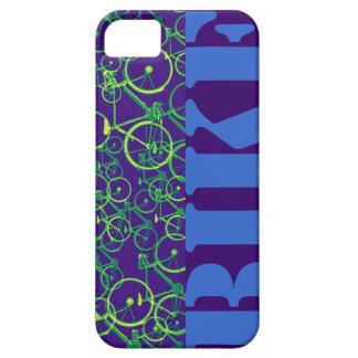 vélo。 青いバイク iPhone SE/5/5s ケース