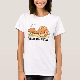 VelocinaptorのTシャツ(色のデザイン) Tシャツ