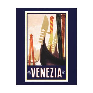 Veneziaの観光事業のキャンバスのプリント キャンバスプリント