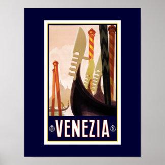 Veneziaの観光事業ポスター ポスター