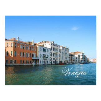 Venezia Gran運河の郵便はがき ポストカード