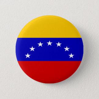 Venezuela Flag 缶バッジ