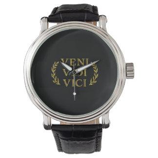 Veni Vidi Viciのおもしろいなゲームの勝者 腕時計