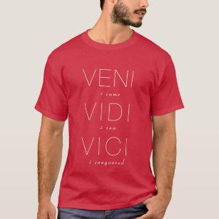 Veni、Vidi、Vici Tシャツ