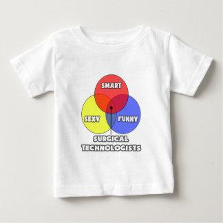 Vennの図表。 外科科学技術者 ベビーTシャツ