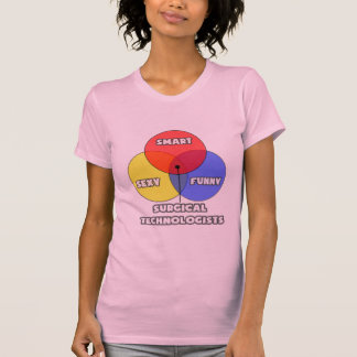 Vennの図表。 外科科学技術者 tシャツ