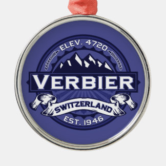 Verbierのロゴの真夜中 メタルオーナメント